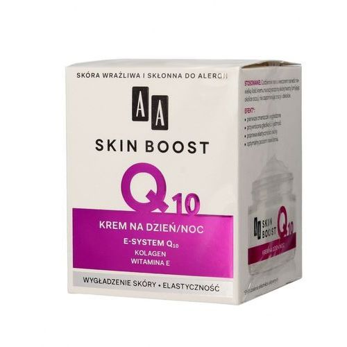 Aa cosmetics skin boost q10, 50 ml. krem na dzień i noc - aa cosmetics. darmowa dostawa do kiosku ruchu od 24,99zł