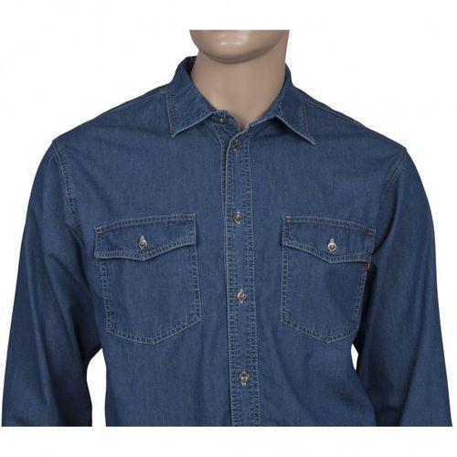 Niebieska koszula jeansowa marki Stanley