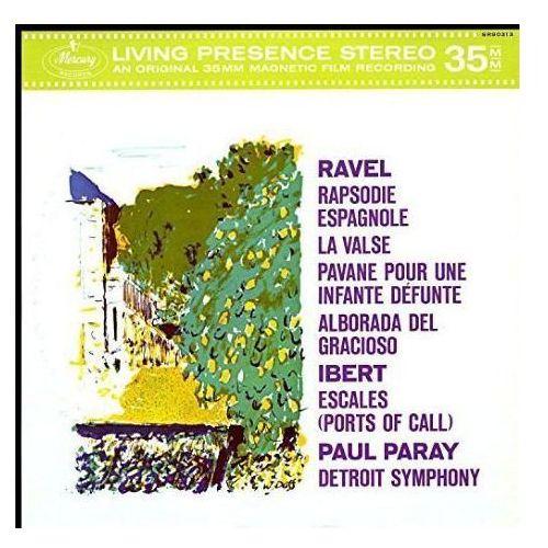MERCURY LIVEING PRESENCE: RAVEL, IBERT - Paray Paul (Płyta winylowa)