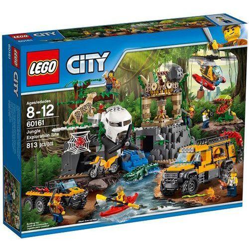 60161 BAZA W DŻUNGLI (Jungle Exploration Site) KLOCKI LEGO CITY wyprzedaż