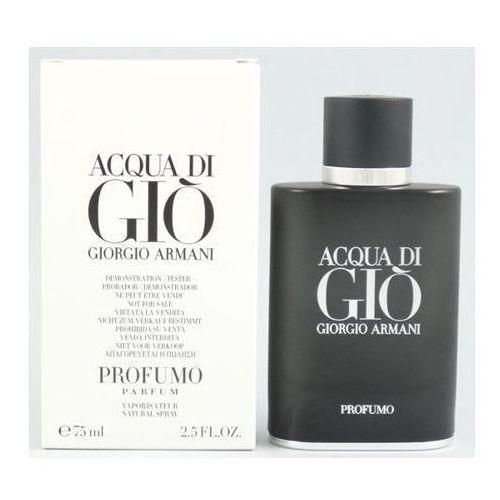 Giorgio armani acqua di gio profumo, woda perfumowana - tester, 75ml