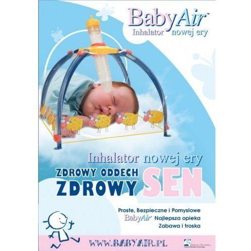 Babyair inhalator nebulizator dla wcześniaków, niemowląt i dzieci bezmaseczkowy Babybreath israel