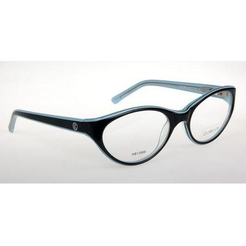 Oprawki okularowe lorenzo kb13589 c2 czarny-seledyn Lorenzo conti