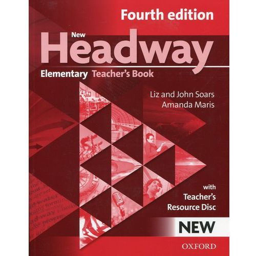 New Headway Elementary 4 ed. Teacher's Book + CD Oxford (9780194769112)