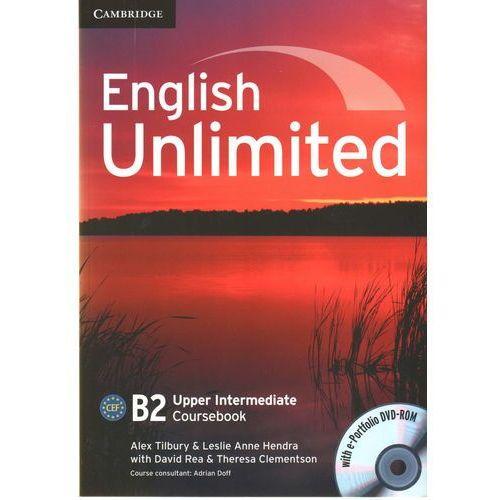 English Unlimited Upper Intermediate Coursebook (podręcznik) with e-Portfolio (lp)