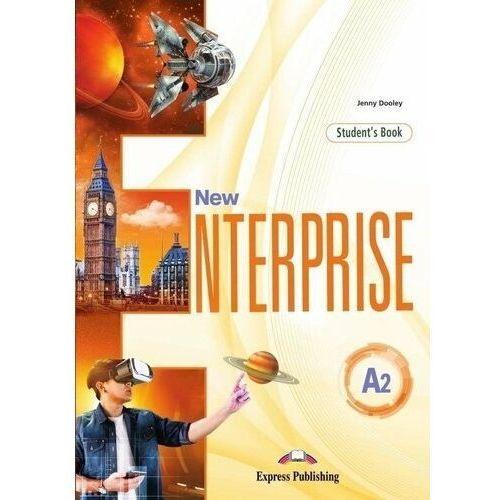 New Enterprise A2 SB + DigiBook EXPRESS PUBL. - Jenny Dooley, oprawa broszurowa