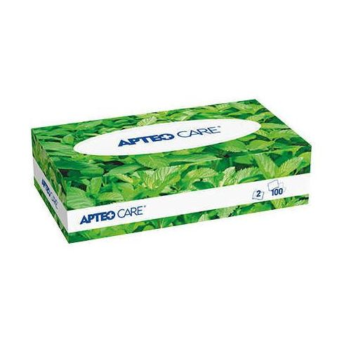 Apteo care chusteczki higieniczne o zapachu miętowym x 100 sztuk marki Synoptis pharma