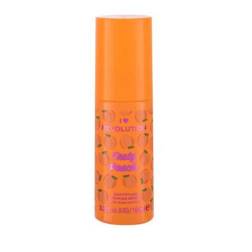 I Heart Revolution Tasty Peach Mattifying Priming Spray baza pod makijaż 100 ml dla kobiet - Bombowy upust