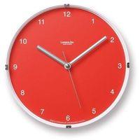 Zegar ścienny North Mini czerwony, LC05-03-RE