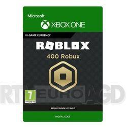 Roblox - 400 robuxów [kod aktywacyjny] xbox one marki Microsoft