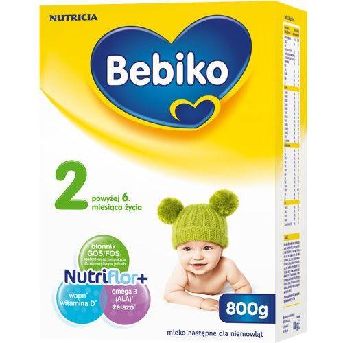 800g 2 mleko następne dla niemowląt powyżej 6. miesiąca życia Bebiko