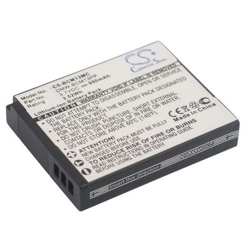 Cameron sino Panasonic dmw-bcm13 950mah 3.52wh li-ion 3.7v () (4894128073055)
