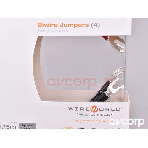 Wireworld Oasis Bi-wire Jumpers - zworki głośnkowe