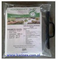 Agrokarinex Agrowłóknina wiosenna pp 23 g/m2 biała 3,2 x 10 mb.