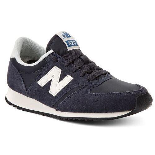 Sneakersy - u420nvb granatowy marki New balance