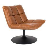 fotel bar vintage brązowy - dutchbone 3100044 marki Dutchbone