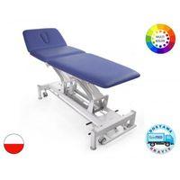 Stół rehabilitacyjny terapeuta m-s3.f4 z elektryczną regulacją wysokości z ramy i funkcją fotela marki Meden-inmed