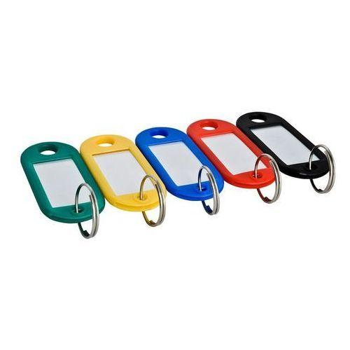 Zawieszki plastikowe do kluczy Argo, opakowanie 100 sztuk, zielone - Super Ceny - Rabaty - Autoryzowana dystrybucja - Szybka dostawa - Hurt