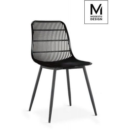 Modesto design Modesto krzesło basket czarne - polipropylen (5900000050218)