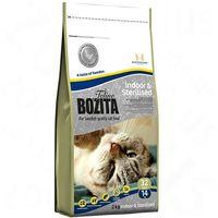 adult indoor & sterilised - karma dla kotów sterylizowanych i mało aktywnych, 400 g marki Bozita