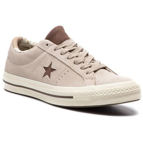 ddbbd547ab7be Converse Tenisówki CONVERSE - One Star Ox C160586 Papyrus/Dark  Chocolate/Egret, kolor beżowy
