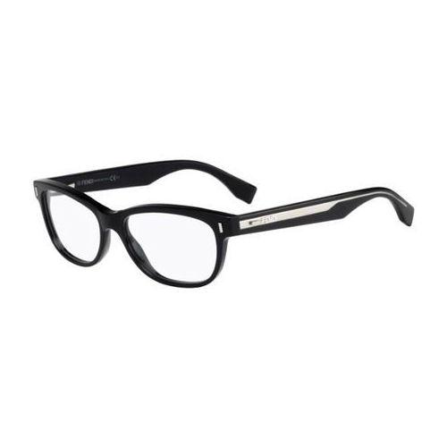 Okulary korekcyjne ff 0034 color block udu Fendi