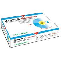 Dodatek żywieniowy dla psów i kotów Vetoquinol Zentonil advanced 100mg 30 tab - 3605874320055