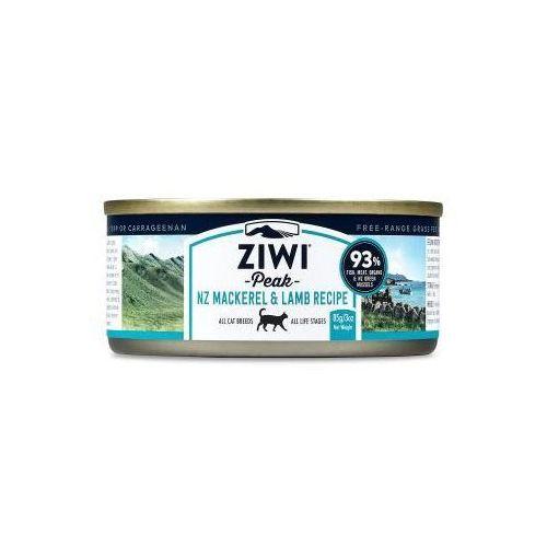 daily cat mokra karma dla kotów z makrelą i jagnięciną 185g marki Ziwipeak