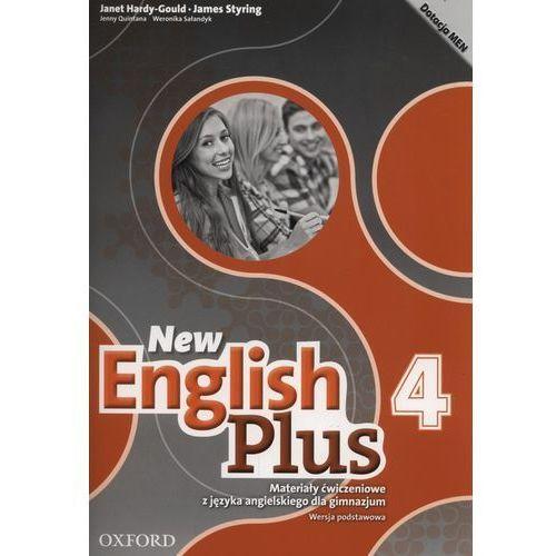 New English Plus 4 Materiały ćwiczeniowe wersja podstawowa 2017 (9780194419710)