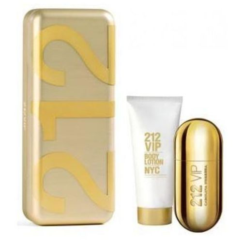 CAROLINA HERRERA 212 VIP Woman EDP 50ml + BODY LOTION 100ml
