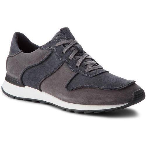 Sneakersy CLARKS - Waken Jump7 Dark Grey, w 8 rozmiarach