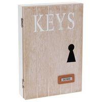Szafka na klucze HOME - wieszak na drobiazgi (8718158457158)