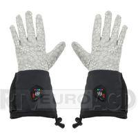 GLOVII Ogrzewane rękawice S-M (szary)