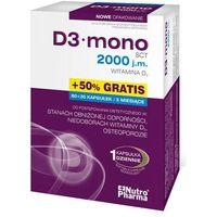 Kapsułki D3 mono 2000 j.m. x 60 + 30 kapsułek gratis!