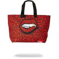 torba na ramię SPRAYGROUND - Red Leopard Lips Tote Bag (MULTI)