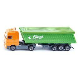 Siku, ciężarówka z naczepą i plandeką - Trefl