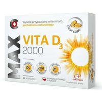 Kapsułki Max Vita D3 2000 x 60 kapsułek