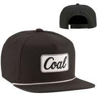 czapka z daszkiem COAL - The Palmer Black (01)