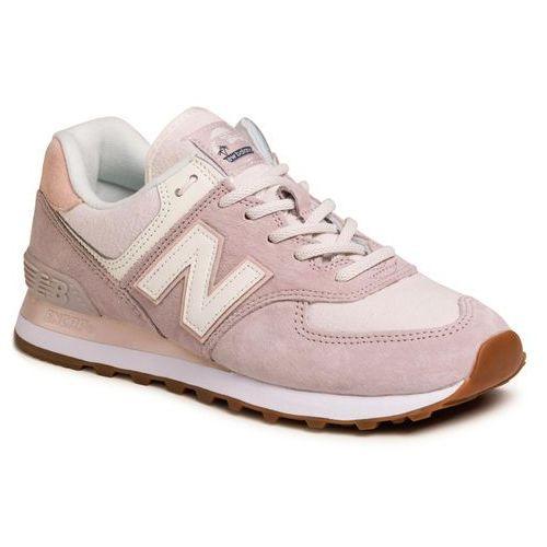 Sneakersy NEW BALANCE - WL574SAX Różowy, kolor różowy