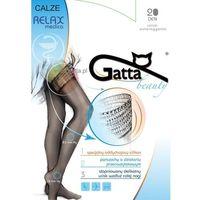 Pończochy samonośne przeciwżylakowe calze relaxmedica 20 den marki Gatta