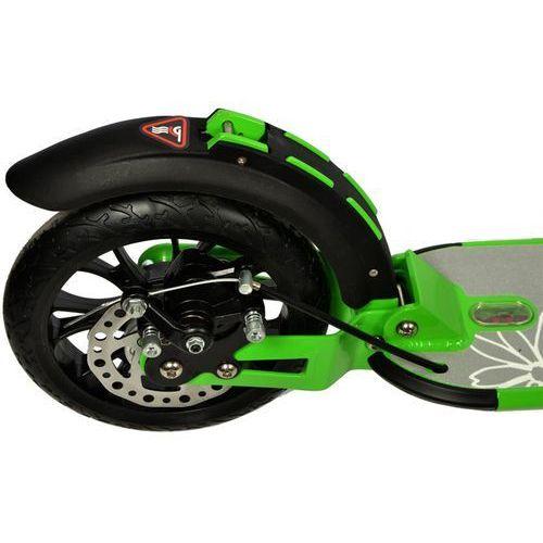 Hulajnoga duże koła 200mm z amortyzatorem Daisy Enero - zielony (5902431017112)