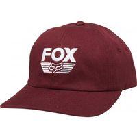 Fox czapka z daszkiem lady ascot cranberry