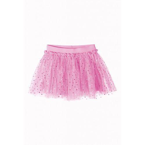 Spódnica dziewczęca tiulowa róż 3Q36AG, kolor różowy