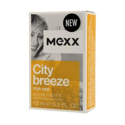 Mexx City Breeze Woman 15ml EdT - Godna uwagi przecena
