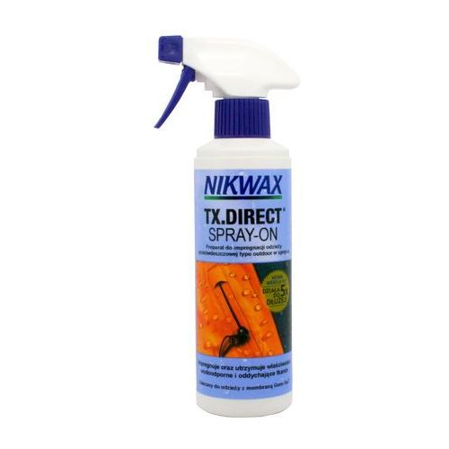 Nikwax Impregnat do odzieży przeciwdeszczowej  tx direct® spray on 300 ml