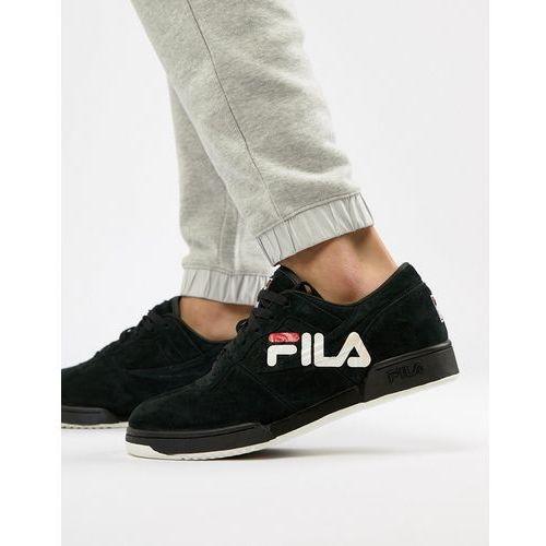 Original fitness logo trainer in black - black Fila