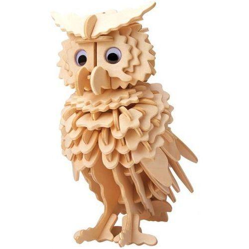 Łamigłówka drewniana Gepetto - Sowa (Owl)