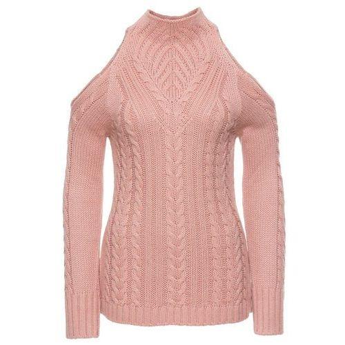 Sweter jasnoróżowy marki Bonprix