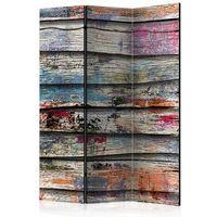 Parawan do mieszkania 3-częściowy - Kolorowe drewno 135 szer. 172 wys.