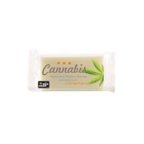 Cannabis Mydło konopne naturalne z mikropeelingiem 100 g - Znakomita oferta